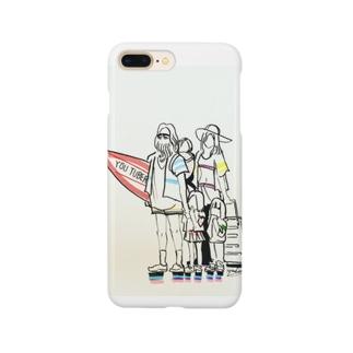 サーフィンYouTuber Smartphone cases