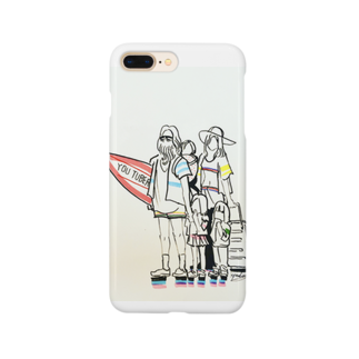 kyan-dog shopのサーフィンYouTuber Smartphone cases