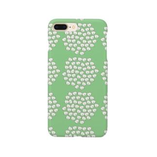 北欧柄ネコ(グリーン) Smartphone Case