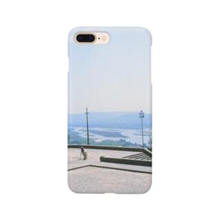ポルトガル:ヴィアナ・ド・カステロの風景写真 Portugal: Rio Lima / Viana do Castelo Smartphone cases
