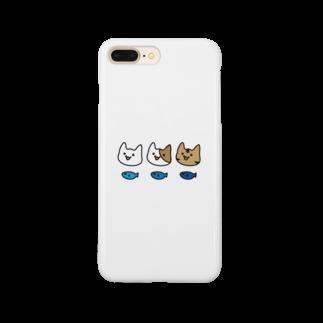 tsubakimayのねこちゃんず Smartphone cases