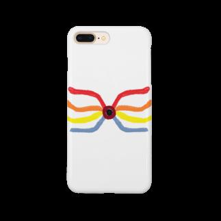 アメリカンベースのインパクト 絵画 Smartphone cases