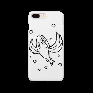 カリツォーのとびうお Smartphone cases