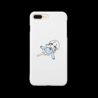 ppp_aoki_のあおいちゃん Smartphone cases
