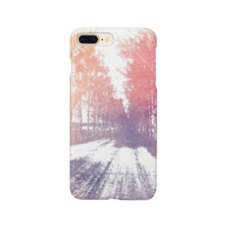 白樺並木  Smartphone cases