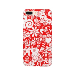 Ornament red Smartphone cases