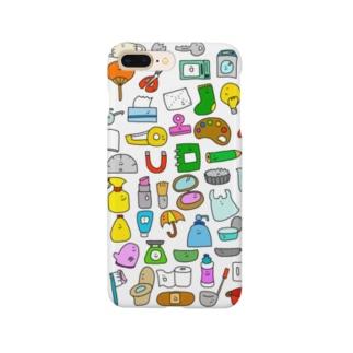 ざっかがいっぱい Smartphone cases