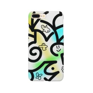 くるくるぱー! Smartphone cases