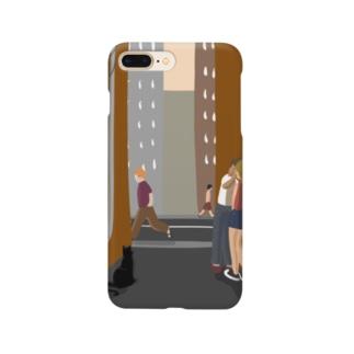 路地裏のキス Smartphone cases