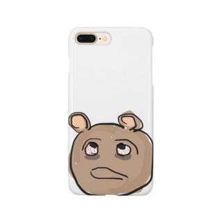 熊と隈 Smartphone cases