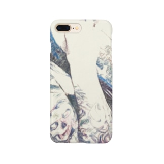 BLUE CALL GIRL Smartphone cases