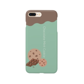 chocolate mint cookie Smartphone cases