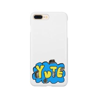 まりもとパンのゆてちゃんジャーン!! Smartphone cases