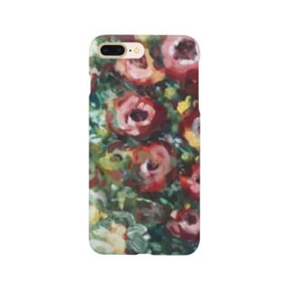花はこっちをみている Smartphone cases