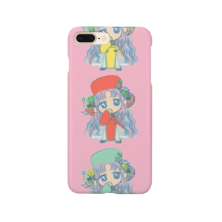 チャイナ服の女の子 Smartphone cases