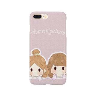 褒める女の子たちのスマホケース Smartphone cases