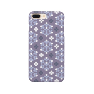 d*ropsのhydrangea Smartphone cases