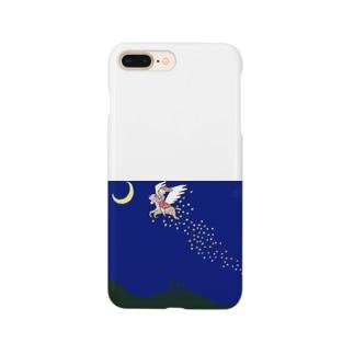 天馬にのった少女 Smartphone cases