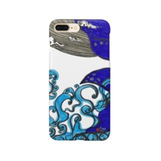 ソラを游ぐクジラ Smartphone cases