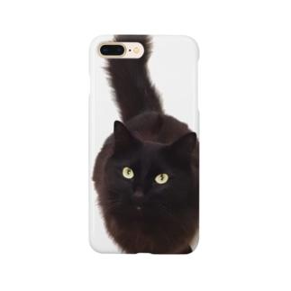 くろすけニャン Smartphone cases
