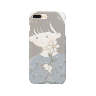 おんなのこ(あおいろ) Smartphone cases