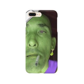 バカザマスグッズ Smartphone cases