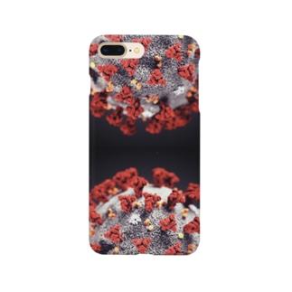 コロナウイルス Smartphone cases