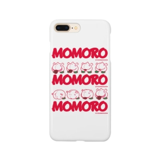 MOMOROS(WHITE) Smartphone cases