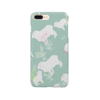 春のひつじ Smartphone cases