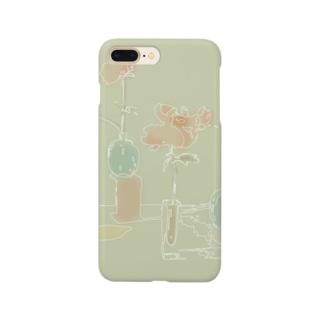 テーブルの上 Smartphone cases