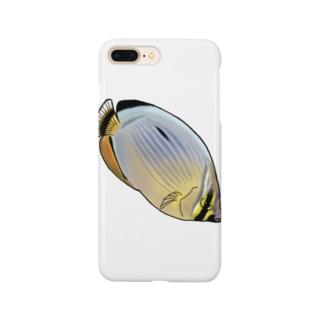 メロンバタフライフィッシュ Smartphone cases