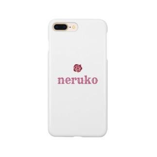 ねるこロゴ Smartphone cases