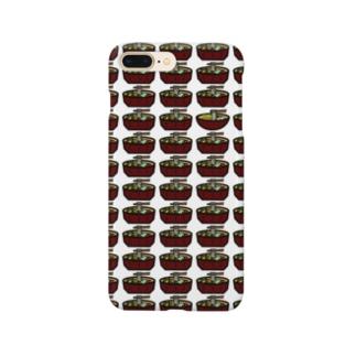一人ぼっちの吉田のうどん Smartphone cases