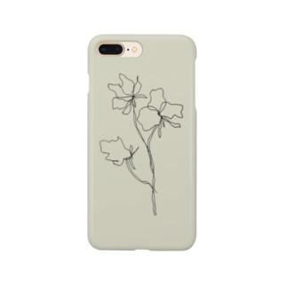 スイートピー Smartphone cases