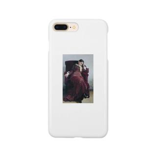 ねむねむ娘 西洋画 Smartphone cases