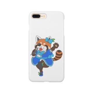 アイドルレッサーパンダちゃん Smartphone cases