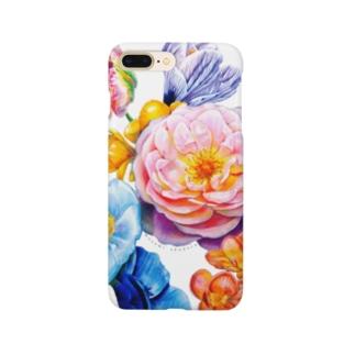 flowers 陰 Smartphone cases