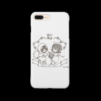 ♰Tou-Rou.♰の赤ずきんと白雪姫 Smartphone cases