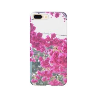 フリルな桜 Smartphone cases