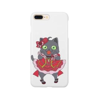 アイドルネコちゃん Smartphone cases