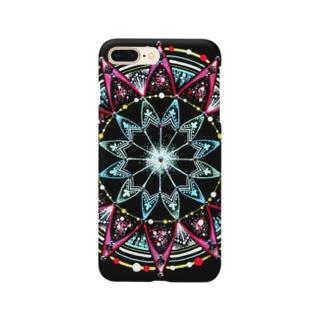 聖夜﹣点描曼荼羅 Smartphone cases