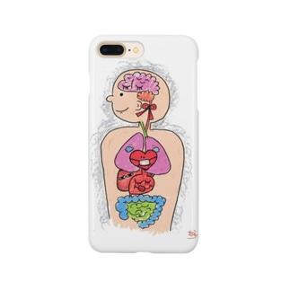 内臓まるだし坊や Smartphone cases