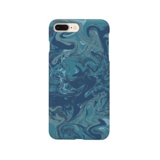 青と蒼とao Smartphone cases