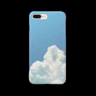 ネの入道雲 Smartphone cases