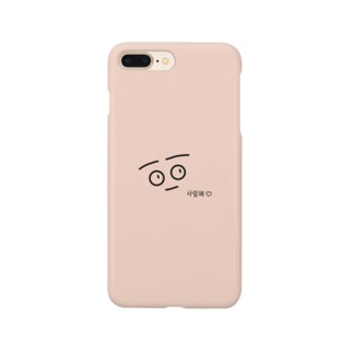 Penguin_Miのまるまるお目目 Smartphone cases