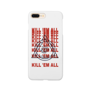 KILLEMALL (キリーモール)のKill them all #2 Smartphone cases