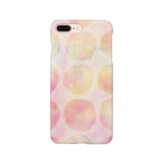 みんなまあるい Smartphone cases