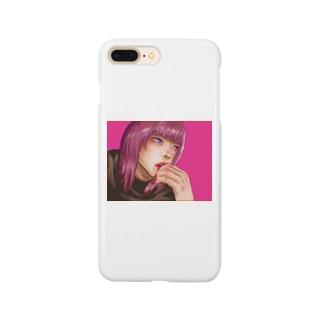 空腹な女の子 Smartphone cases