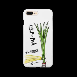 ばんやのにらーマン② Smartphone cases