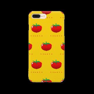似顔絵 KURI屋のトマト Smartphone cases